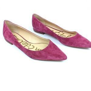 Sam Edelman Reyanne Magenta Pink Flats 10M